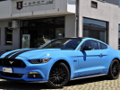 FORD MUSTANG FASTBACK 5.0 V8 421cv GT MANUALE , BLACK STRIPES , 19″ , RETROCAMERA , PERMUTE