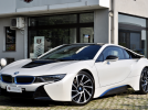 BMW i8 coupe' , UFF. ITALIANA , BIANCO PERLA , HARMAN KARDON , HEAD-UP DISPLAY , 20″, PERMUTE