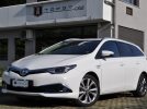 TOYOTA AURIS TOURING SPORTS 1.8 HYBRID 136cv LOUNGE, UNICO PROP, SERVICE UFF. TOYOTA, EURO 6B, LANE ASSIST, FULL LED, RETRO, 17″, PERMUTE